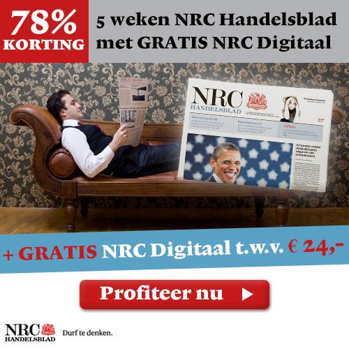 NRC Handelsblad 5 weken 15,-